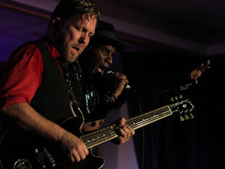 Devon Allman and Cyril Neville © Copyright 2013 Alan White. All Rights Reserved.