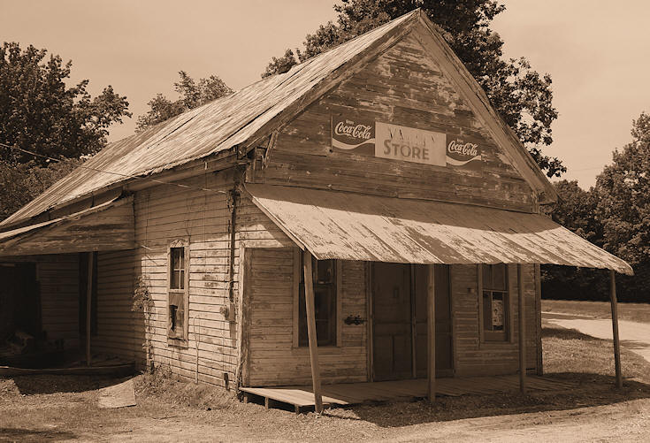Valley Store, Mississippi © Copyright 2008 Alan White. All Rights Reserved.